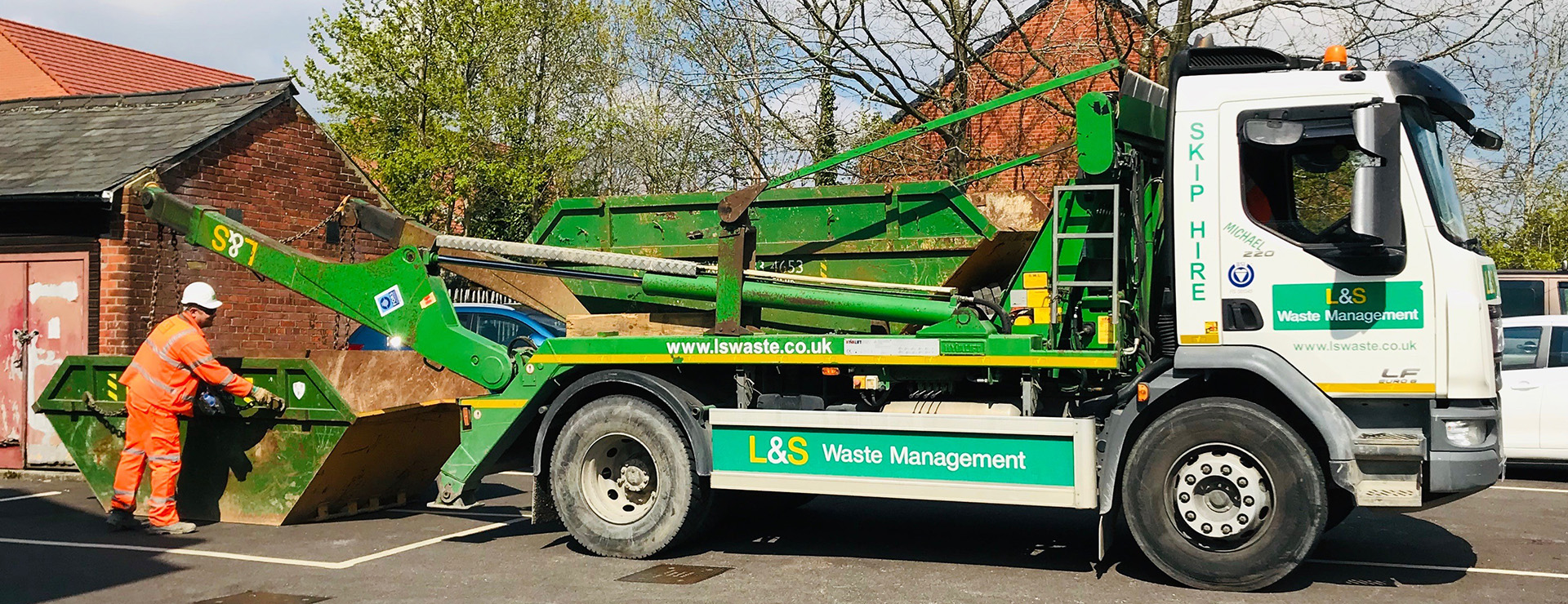 L&S Waste - Charity In the Community - L&S helps the Phoenix take flight